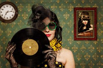 salon vinyl vintage biarritz