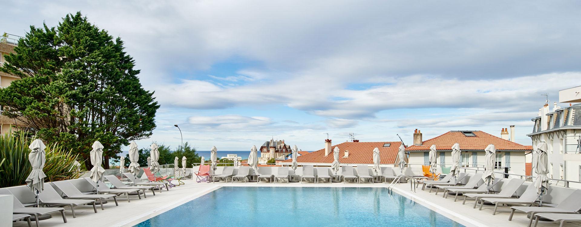 appart hotel avec piscine biarritz