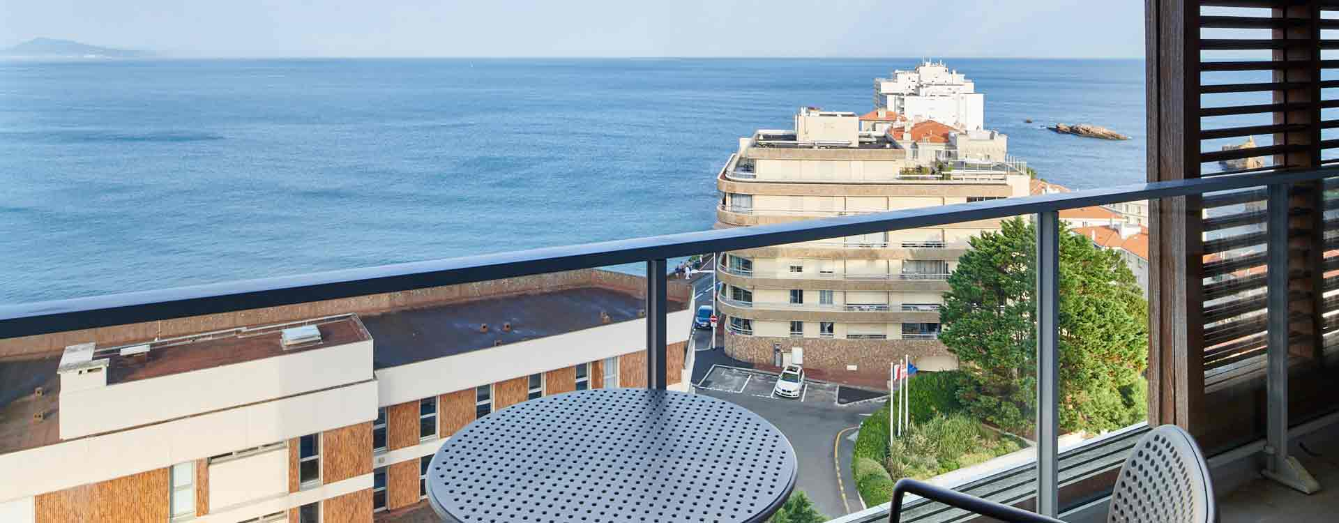 appart hotel biarritz vue mer