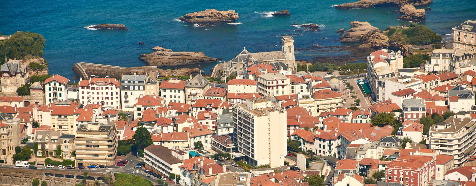 residence grand large biarritz