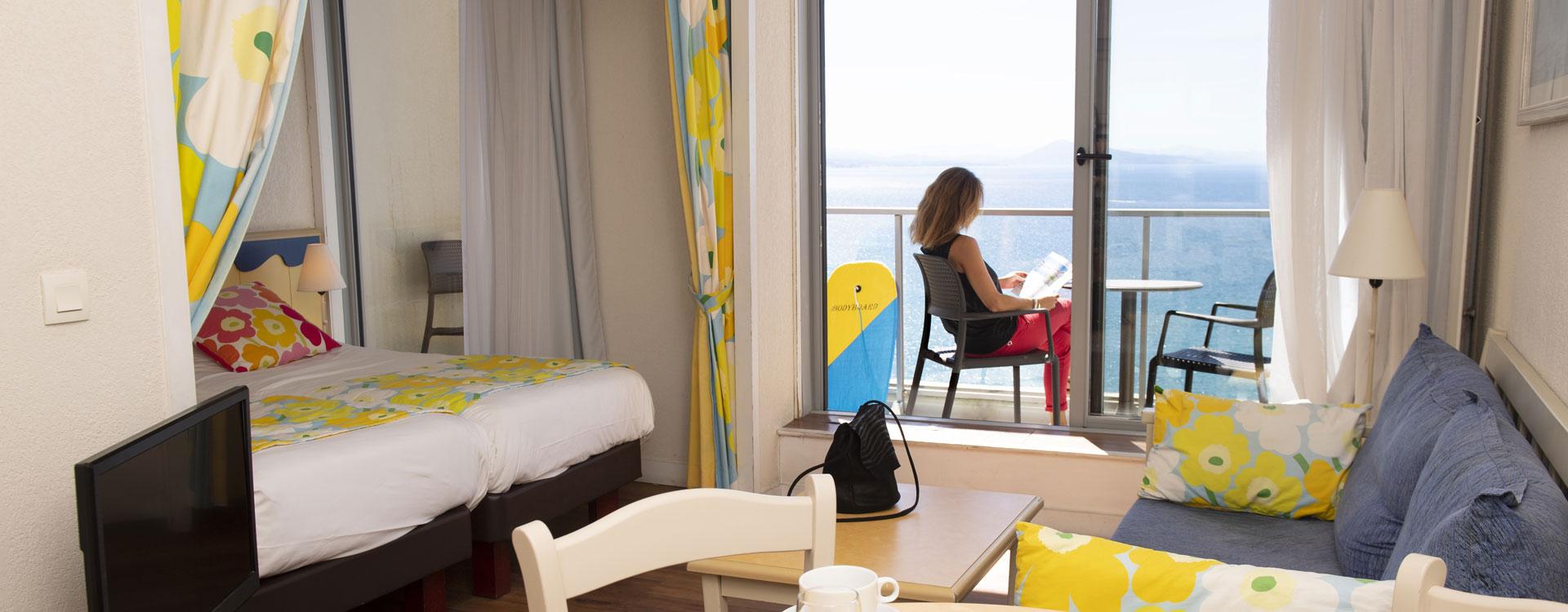 studio vue ocean biarritz